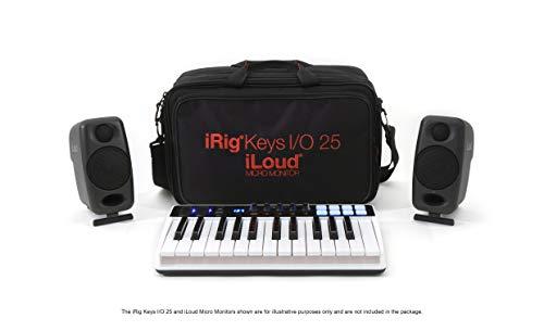 Combi travel bag for iRig Keys I/O 25 & iLoud Micro Monitors