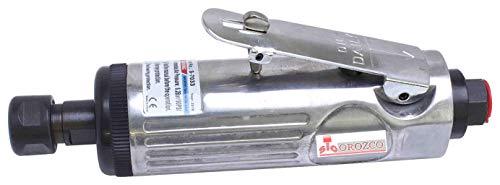 Mini Amoladora Neumática Recta 20.000 r.p.m. Pinza 6mm.