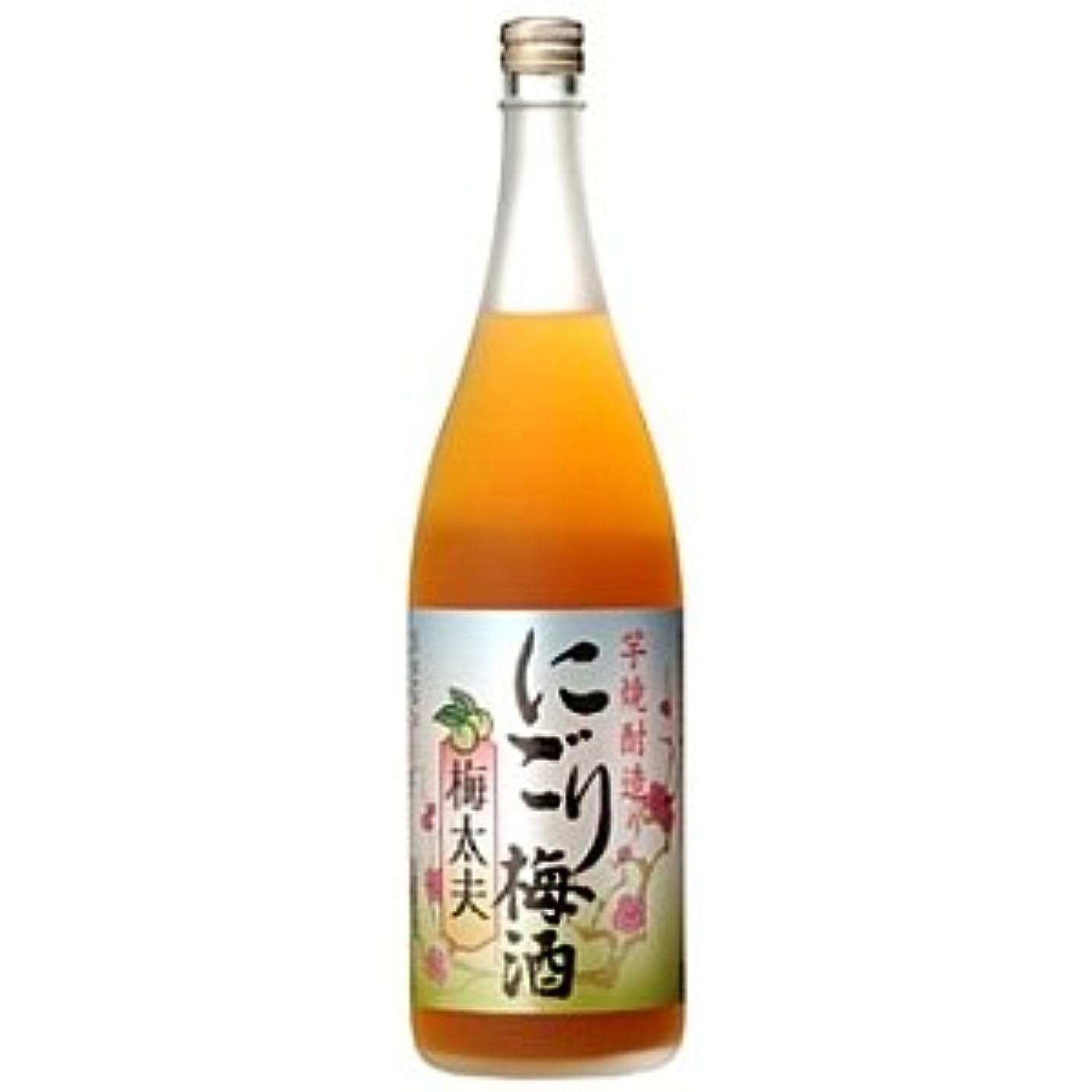 歯科医ドル質量山元酒造 にごり梅酒 梅太夫 1.8L 6本 (1ケース)