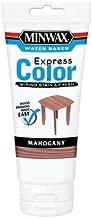 Minwax 308044444 6 Oz Mahogany Water Based Wiping Stain & Finish