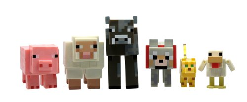 Product Image of the Minecraft Animal 6 Pack