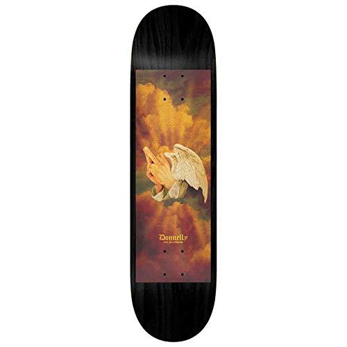 Real Donnelly Pregando Fingers Skateboard Deck Nero Multi 20,5 cm