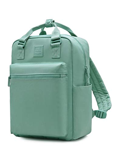 HotStyle 254s Fashion Backpack for Women & Girls, Casual Book Bag Stylish for School, College, Work & Travel, Turquoise Green