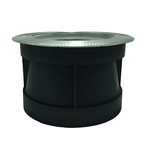 HKGOLDTURE PAR56 Gehäuse Nische in Edelstahl für LED Pool Licht RGB 12V IP 68 Wasserdicht