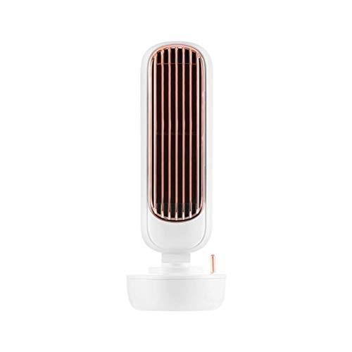 YLLN Ventiladores de Torre 3 en 1 Refrigeración silenciosa Mini refrigerador de Aire portátil Humidificador doméstico Ventilador de Aire Acondicionado