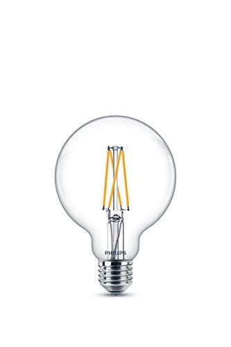 Philips Classic WarmGlow 60W, E27, warmwit (2200-2700K), 806 lumen, dimbare LED-lamp, glas, 9 W, helder