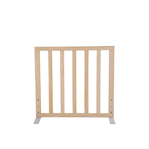 KOSGK Träsäng skyddsräcke, babysäng staket anti-fall infattning (storlek: 60 cm)