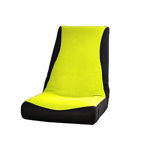 TLMYDD Canapé Pliant Paresseux Petit Canapé Simple Balcon Mini Chaise Longue Canapé Paresseux (Couleur : Green)