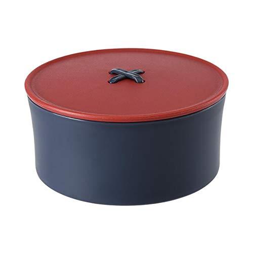 unknow Sawyerda DIY Nähkiste, Multifunktionale Nähkiste Werkzeuge Zubehör für Damen Damen,rot blau