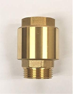 """Hallmark Industries """"Check valve, brass, 1.25"""""""" NPT male in/ 1.25 FNPT out"""" (SP0465X-125) by Hallmark Industries Inc."""