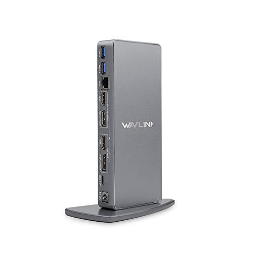 WAVLINK USB3.0 Dual 4K Laptop Docking Station