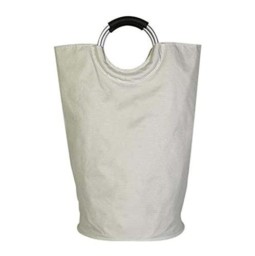 HUAEI Cesta portátil de lavandería, Bolso de Almacenamiento de Ropa Impermeable, Cesta de Ropa de Juguete Plegable, Oxford Ropa de Gran Capacidad Organizador de Cesta
