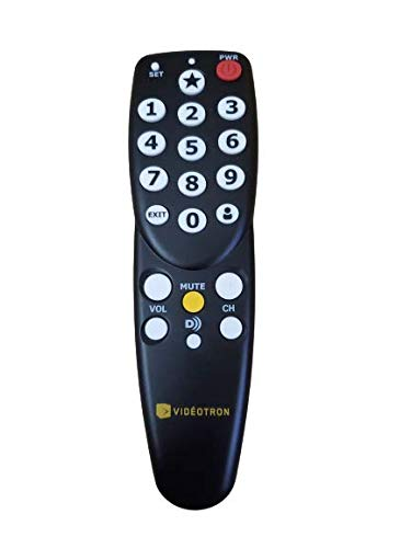Easy to Use - Big Button Universal TV Remote