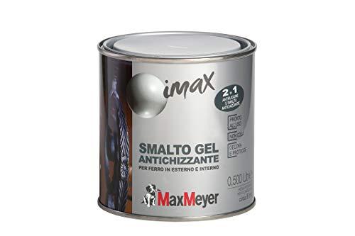 Maxmeyer 162581C400009 Smalto Antichizzante Antiruggine Antracite 0,5 L, 0.5L