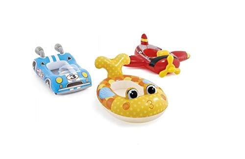 Intex Blau Rennauto Kinder Aufblasbar Ritt Am Pool Cruiser Strand Schwimmend Spielzeug