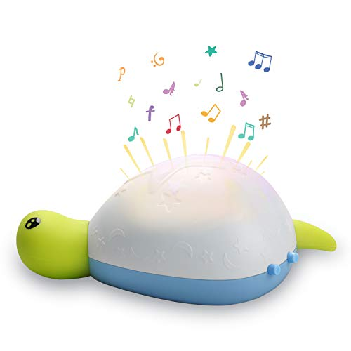 Nachtlicht Baby, Termichy Einschlafhilfe Baby Schnuller Licht für Kinder Led Nachtlampe mit einstellbarer weiches Licht beruhigen Musik Timing-Funktion für Schlafzimmer, Babyzimmer, Kindergarten