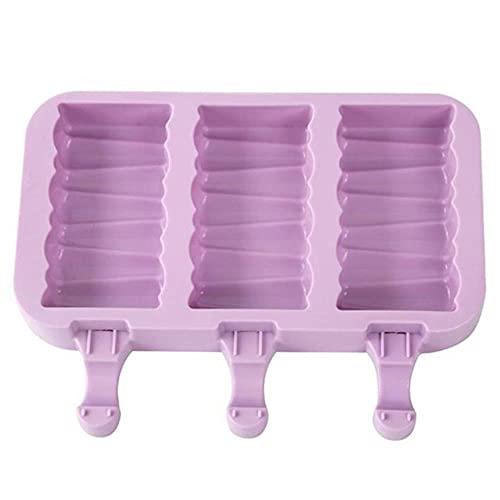 Molde de silicona para helados de helado, moldes de paletas de helados hechos en casa para hacer estallidos de hielo