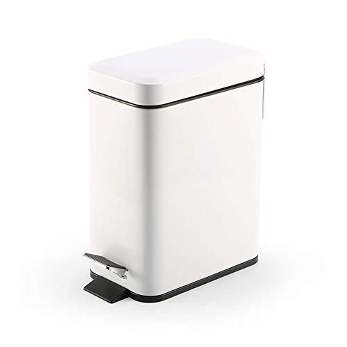 Cubo de basura de metal de la cocina de 5L, Sensor rectangul