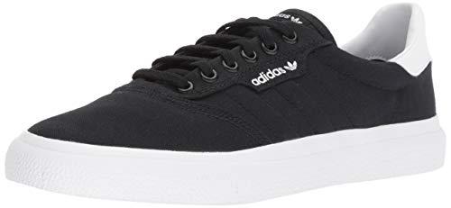 adidas Originals Men's 3MC Sneaker, black/black/white, 13.5 M US