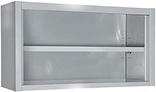 Armoire Inox Ouverte à Suspendre - Gamme 400-1400x400