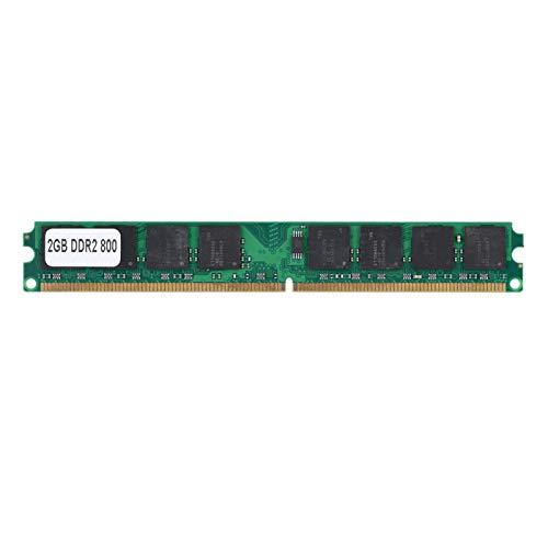 Ram de Memoria DDR2, módulos RAM de Memoria de PC duraderos de Alta Velocidad de 2 GB y 240 Pines, para computadora de Escritorio DDR2 PC2-6400, Compatible con Intel/AMD, Alta Velocidad de Memoria