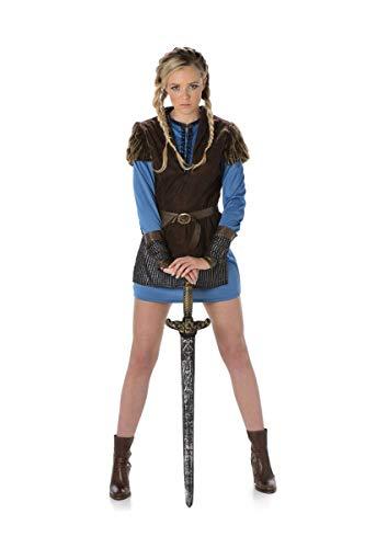 Folat B.V. Karnival Costumes 81071–Disfraz de vikinga para Mujer Talla S