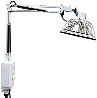 Improved Tdp Lamp CQ222 - Genuine 6.5 inch Mineral Plate Vita Activate | 3rd Generation Far Infrared Mineral Lamp is Best, Detachable Head, Protection Cap