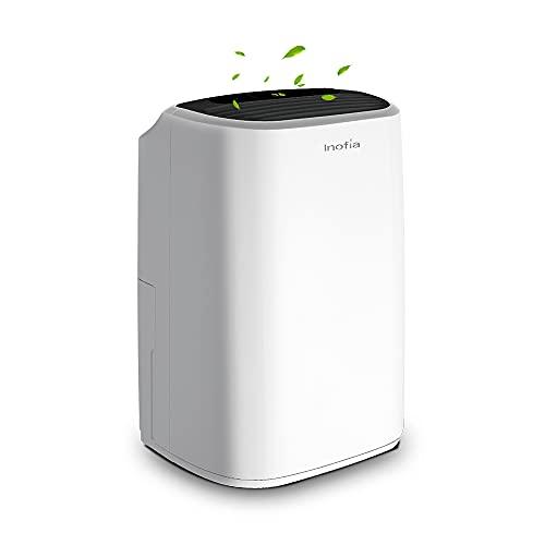 Inofia 30 Pint 1500 SQ FT Home Dehumidifiers for...