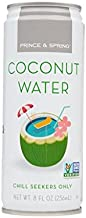 Prince & Spring - Coconut Water (Pack Of 18-8oz) - Chill Seekers Only