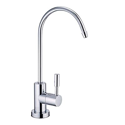 NSF Certification Lead-Free Water Filtration Reverse Osmosis Faucet Advanced RO Tap for Drinking, Kitchen Sink Cleaning | Safe, Healthier (Chrome) (Chrome)