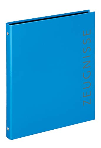 Veloflex 4144351 - Zeugnisringbuch Velocolor, DIN A4, blau, 1 Stück