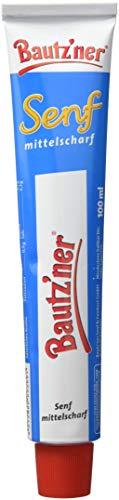 BAUTZ'NER Mittelscharfer Senf, 20er Pack (20 x 100 ml)