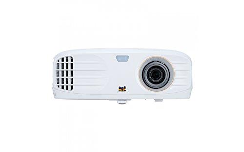ViewSonic PX747-4K Proyector Cine en casa 4K UHD (3500 lúmenes, HDMI, Compatible con HDR, Altavoces)- Blanco, VS17290