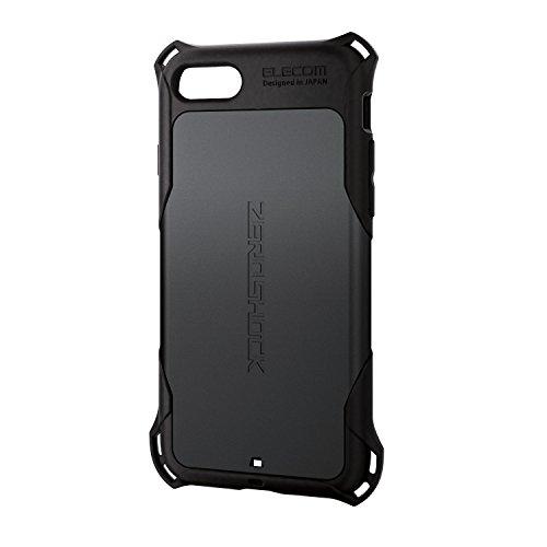 エレコム iPhone 8 ケース カバー 衝撃吸収 【 落下時の衝撃から本体を守る 】 ZEROSHOCK スタンダード 衝...