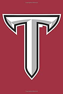 "Troy Trojans Notebook: Minimalist Composition Book | 100 pages | 6"" x 9"" 