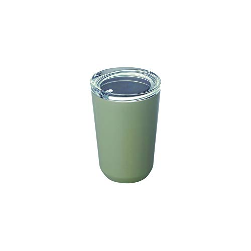 Kinto - To Go Tumbler 360 ml Reise-Wasserflasche Vakuum-Isolierflasche Thermo Sport – Khaki