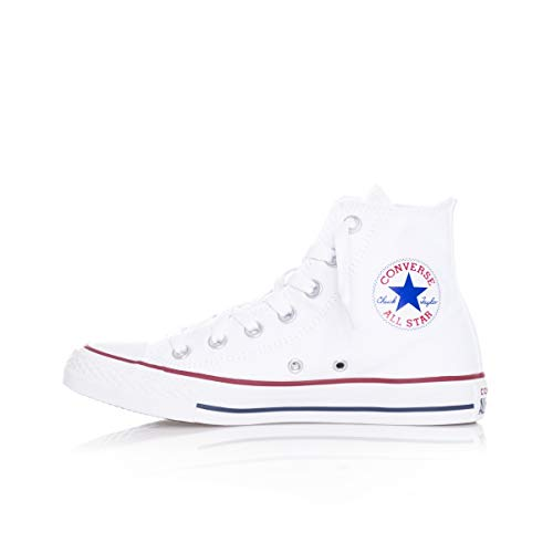 Converse Unisex-Erwachsene Chuck Taylor All Star Season Hi Sneaker, Weiß (Optical White), 41.5 EU