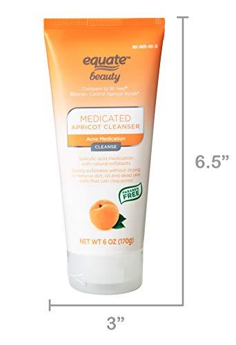 Equate Apricot Scrub - Blemish Control - 6 oz