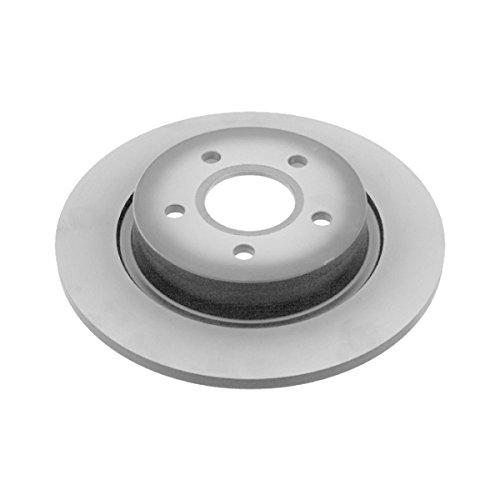 Preisvergleich Produktbild febi bilstein 24619 Bremsscheibensatz (2 Bremsscheiben) hinten,  voll,  Lochanzahl 5