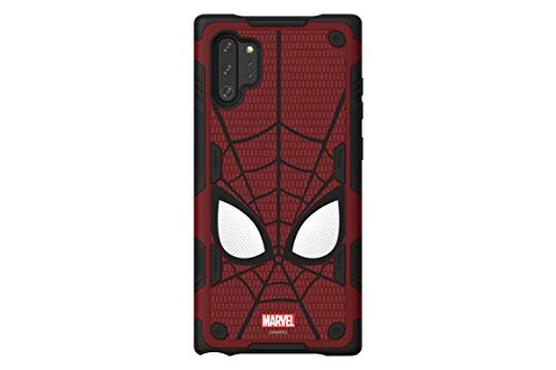 haainc Samsung Galaxy Friends Spider-Man Rugged Protective Smart Cover for Note 10+