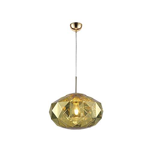 De enige goede kwaliteit Indoor Oval Diamond Effect Kroonluchters, Acryl Decoratieve Lampen Voor Eetkamer/Slaapkamer Nachtkast/Bar Counter/Bar/Kleding Store (38 * 38 * 28CM)