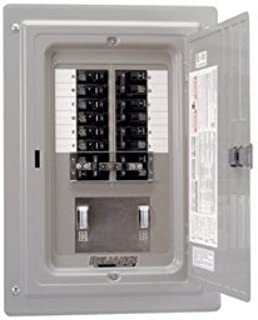 Reliance Prewired Generator Transfer Panel - 12 Circuits, 60 Amps, 125/250 Volts, 15,000 Watts, Model Number TRC1006CP9