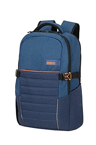 American Tourister Urban Groove - Mochila para portátil 15.6 pulgadas, 49 cm, 22 L, Azul (Blue)
