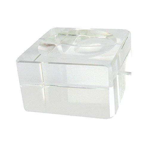 flevado Glasständer f. Ø 200 & 150 mm kristall klare Glaskugeln Dekorationskugeln Ø 200-50 mm
