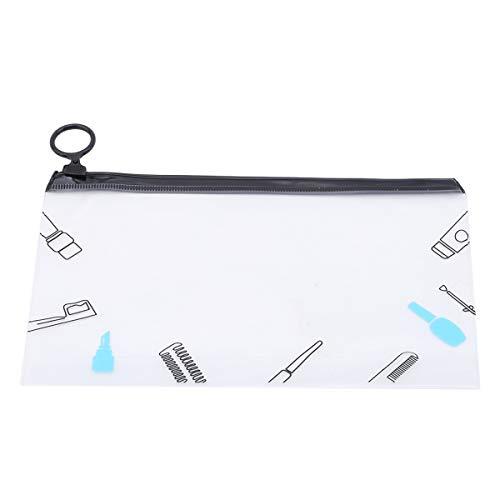 Winwinfly Voyage Sacs Cosmétiques PVC Transparent Imperméable Femmes Make Up Organisateur de Toilette Wash Pouch, Style 5