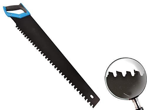 Fuchsschwanz mit Hartmetallbestückung 700 mm gummierter Griff für Porenbeton, Leichtbeton, Gasbeton