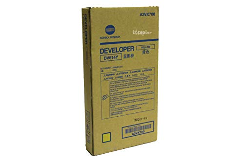 Review Genuine Konica Minolta A3VX700 DV614Y Yellow Developer for C1060 C1070
