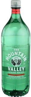 Mountain Valley Spring Water, 1.5 Liter Flat Cap Pet Bottle -- 12 per case
