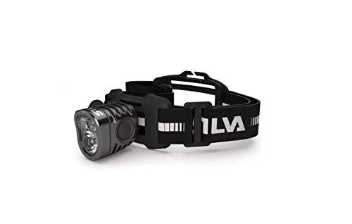 Silva Schneider Exceed 2XT - Linterna (Linterna con cinta para cabeza, Negro, Acrilonitrilo butadieno estireno (ABS), Aluminio, Poliuretano termoplástico (TPU), IPX5, 3 lámpara(s), LED)
