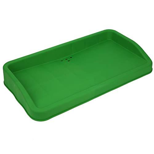 Caja de almacenamiento de caja de servicio de silicona de caucho para golf Contenedor de bandeja de bolas, con 4 orificios de drenaje, Caja de almacenamiento de pelotas de golf, Suministros de golf Ve